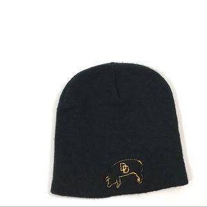 Winter Beanie Hat Black One Size Men Women